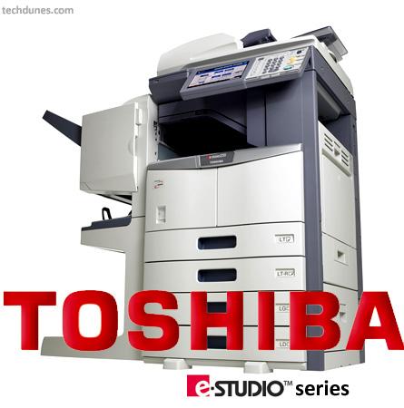 Clear Toshiba eStudio printer error message – Error C44 call