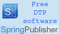Free desktop publishing software springpublisher techdunes for Desktop publisher job