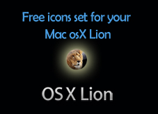 Free icons set for Mac OsX Lion from Glyphish  | Techdunes