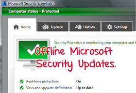 how to turn off microsoft security essentials updates