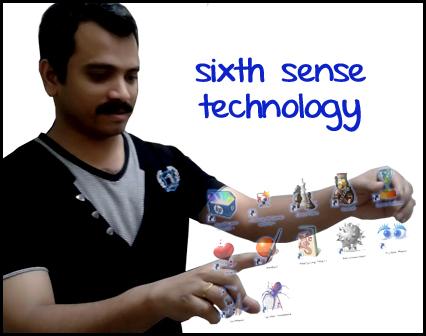 what is sixth sense technology pdf