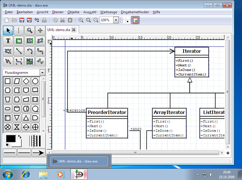 Dia Diagram Editor Create Flow Charts Diagrams Models