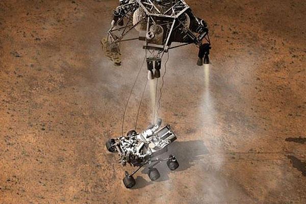 Curiosity is the biggest robot we've ever sent to Mars ...