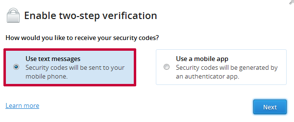 dropbox-2-step-verification-setup
