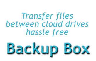 backup box free