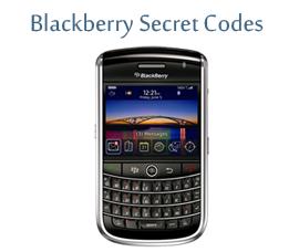 Blackberry Secret Codes