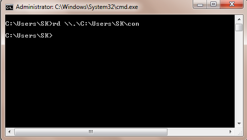 rd-command-prompt