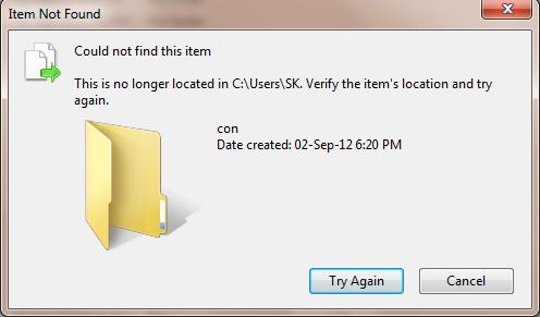 unable-to-del-folder-error