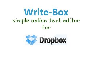 write-box