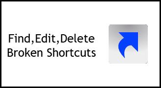 broken shortcuts