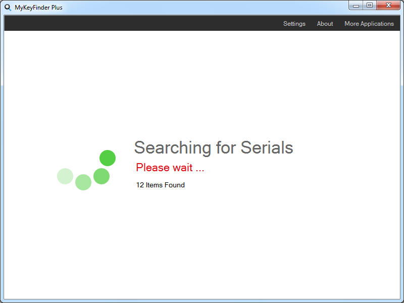 Find serial number